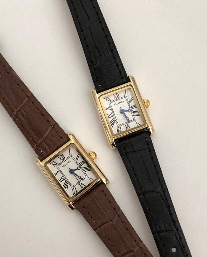 Delly antique watch (2color)