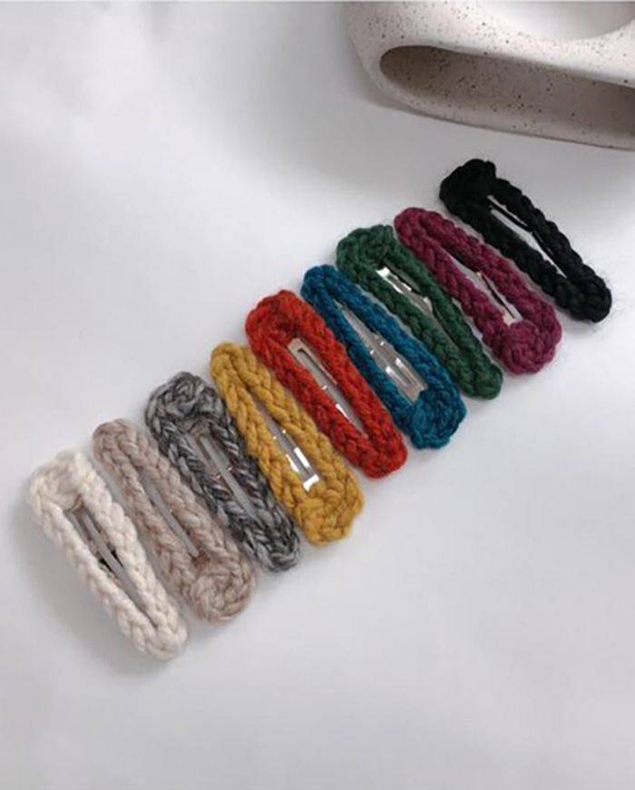 Knit hair pin (9color)