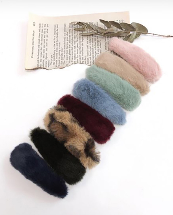 Mink hairpin (8color)
