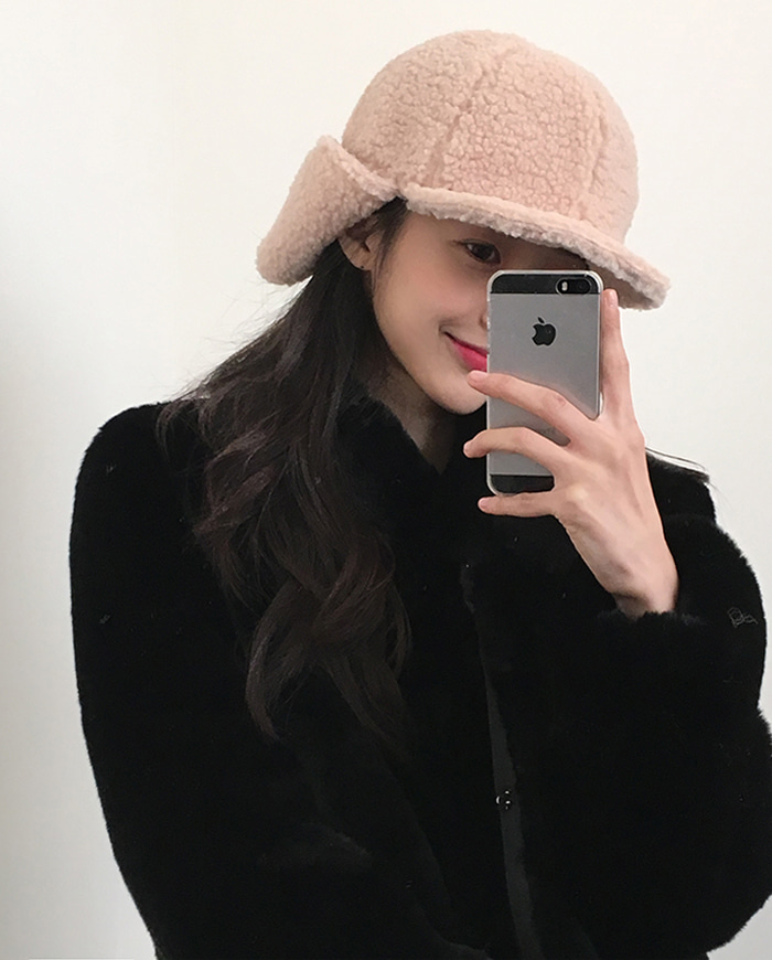 Color wool hat (4color)