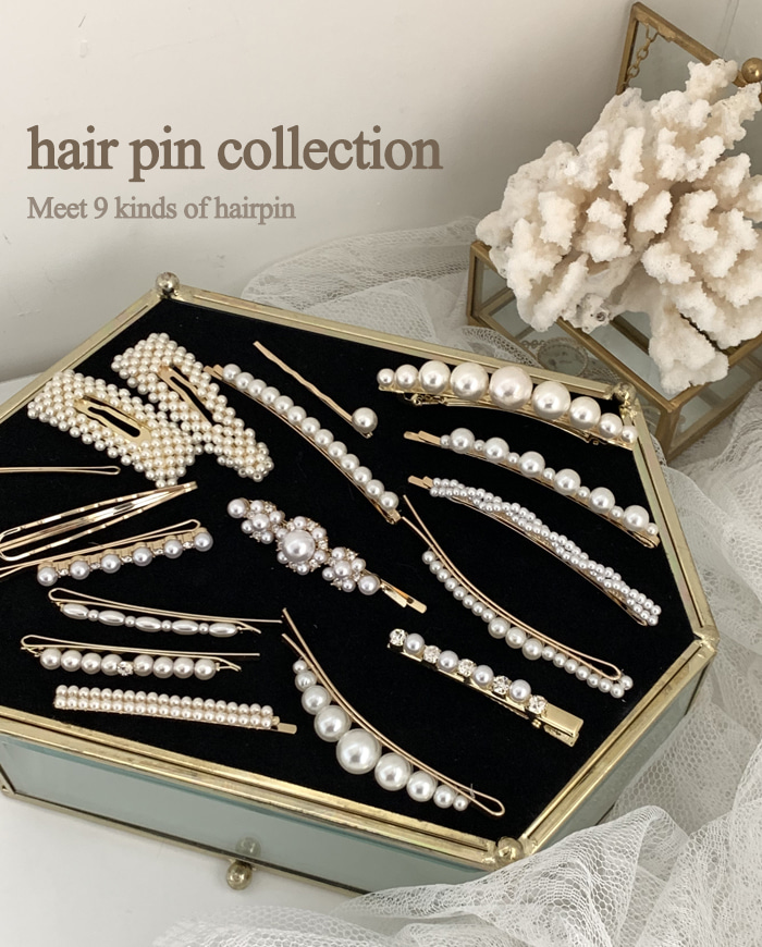 Hair pin collection 9type