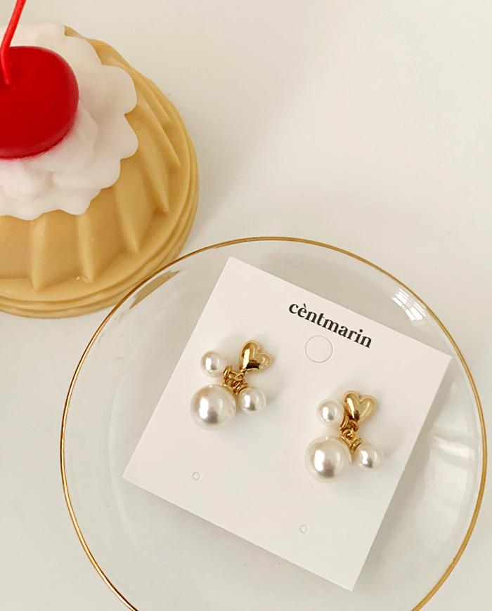 Lav earrings E 163