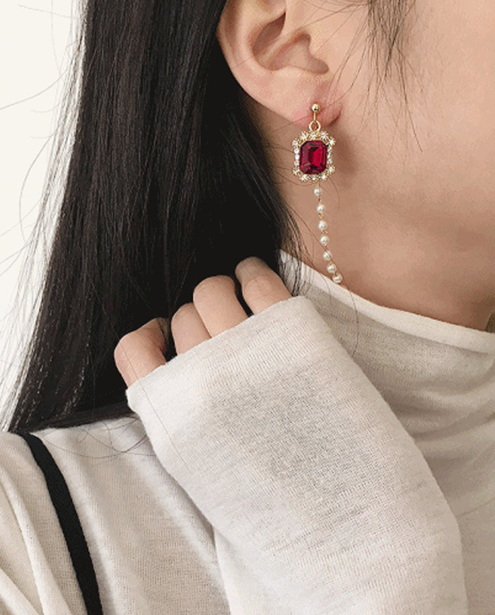 Holiday earring (귀찌가능)  E11