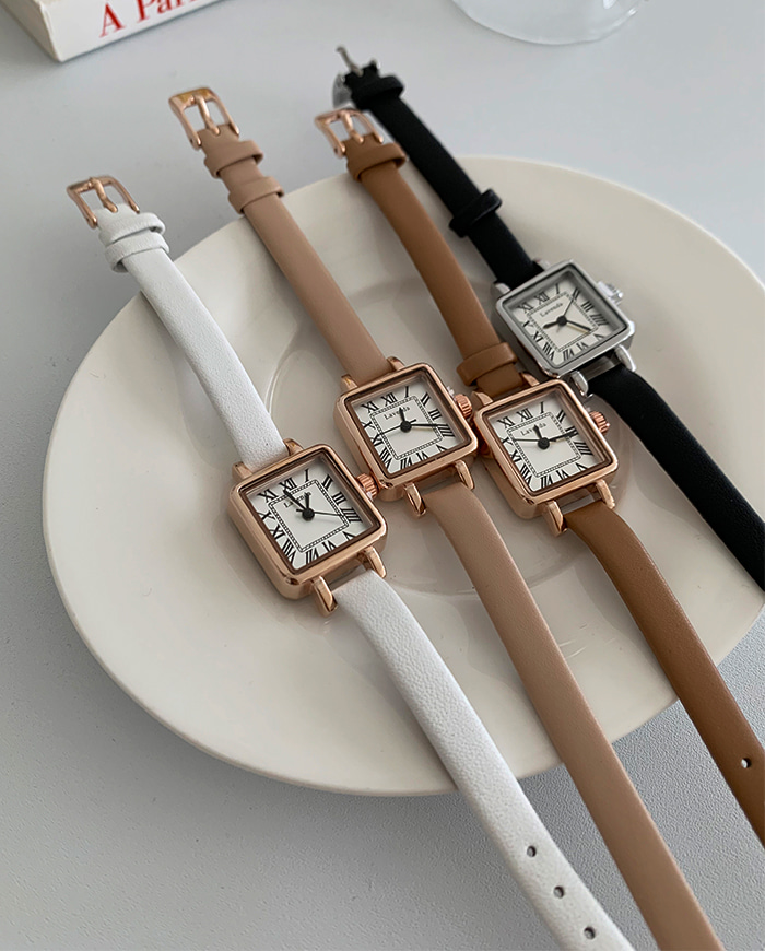 Mary leather watch